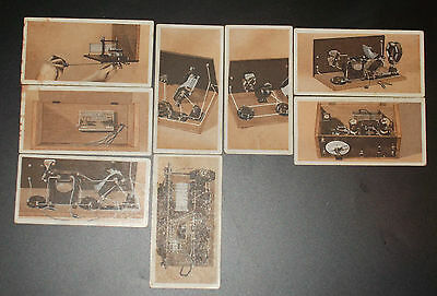 cigarette cards PHILLIPS HOW TO BUILD A TWO VALVE SET