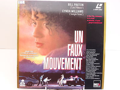 Laserdisc - Un Faux Mouvement / Bill Paxton Cynda Williams