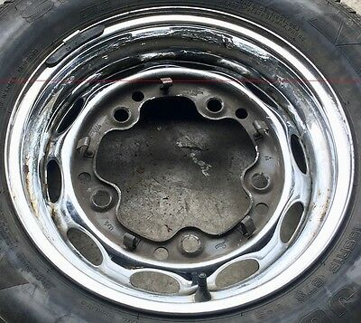 Porsche 356 356A 356B Chrome Lemmerz 4 1/2X15 Steel Wheel