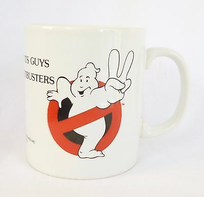 Ghostbusters Ii ~ Vintage Ceramic Mug ~ 1989 ~ Suck In The Guts Guys ~ Coloroll