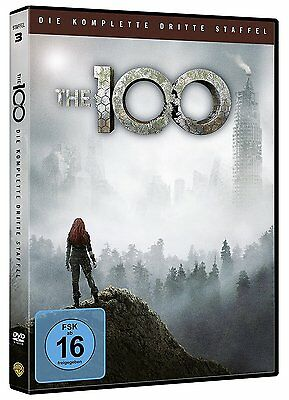 The 100 Die Komplette Dritte Staffel Season 3 Dvd Deutsch