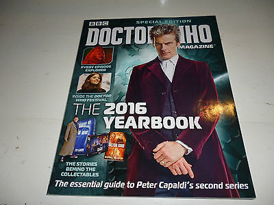 Doctor Who Magazine Special Edition The 2016 Yearbook, Magazine