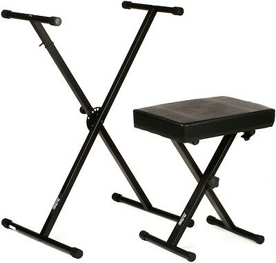 On-Stage Stands KPK6500 Keyboard Stand and Bench P
