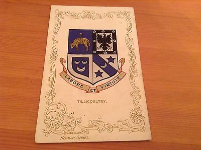 Postcard - Heraldic Series -  Tillicoultry Coat of Arms