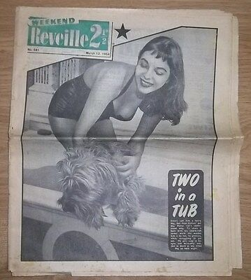 Weekend Reveille 1954 Joan Collins Cover