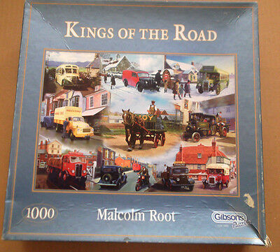1 Jigsaw - Kings Of The Road - By Wh.smith Puzzles - 1000 Pieces - Used
