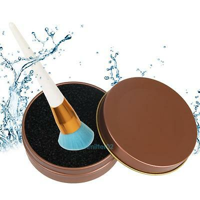 Cosmetic Makeup remover brush color Clean eyeshadow sponge tool cleaner box NEW