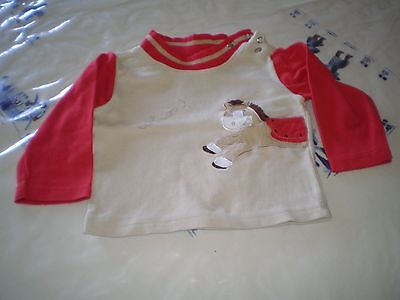 T-Shirt Garcon Taille 3-6 Mois