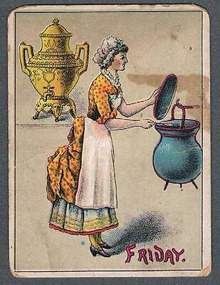 Original 1900's Dilworth's Coffee Advertising Trade Card