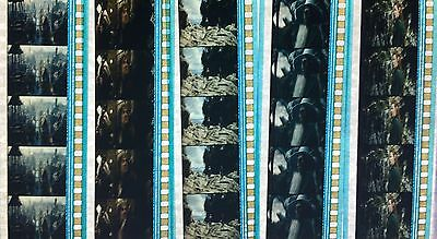 Hobbit Desolation of Smaug - 5 strips of 5 35mm Film Cells