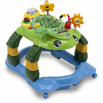 Delta Children Mason the Turtle Lil' Play Station 3-in-1 Activity Walker