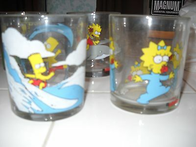Nutella Simpson Set of 6 Glasses