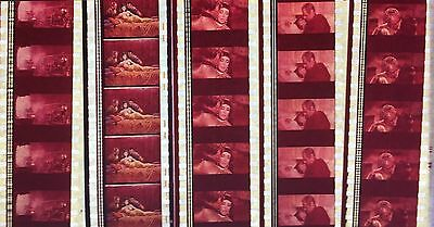 Cleopatra - 5 strips of 5 35mm Film Cells
