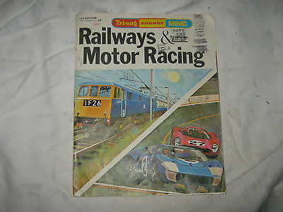 14th Edition Triang Hornby Minic Railway & Motor Racing Catalogue