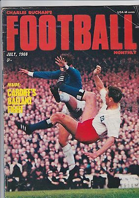 Charles Buchans Football Monthly Magazine July 1968 - Manchester United