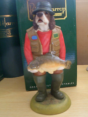 Springer Spaniel Fishing Liver Cc130A Doggie Robert Harrop Mib