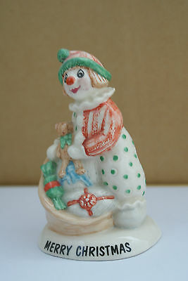 "Offer  Beswick Figurine ""merry Christmas""  Little Lovable 1993"