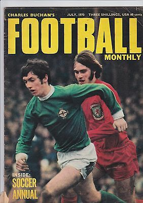 Charles Buchan's Football Monthly Magazine July 1970 - World Cup