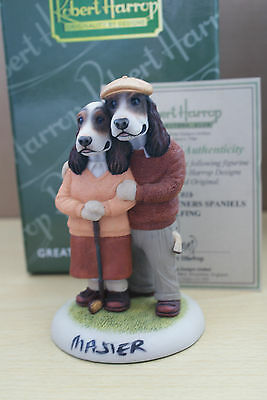 STUDIO MASTER GC01b PERFECT PARTNERS SPANIELS GOLF DOGGIE HARROP mib