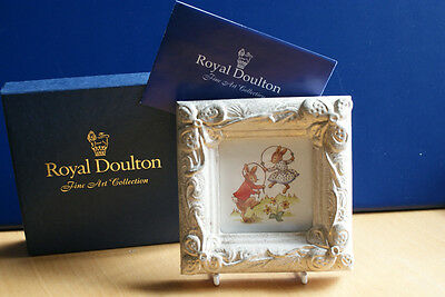 SKIPPING GAME McQUEEN PICTURE BUNNYKINS ROYAL DOULTON