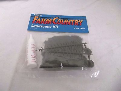 ERTL Farm Country Pine Trees Landscape Kit, Christmas Villages, Model Railroads