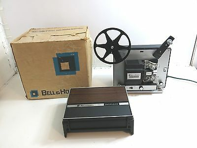 Bell & Howell Super 8 Model 461A Movie Projector With Box