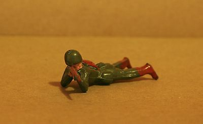 Vintage Lead Toy Soldiers / Laying Down - 100% Original Figure - Q 481
