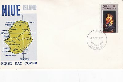 Niue 1972 Christmas FDC Unadressed VGC