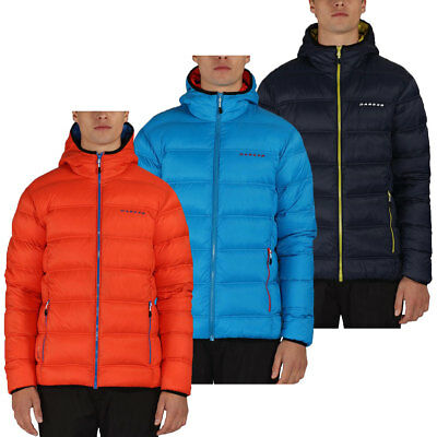 Dare2b 2016 Mens Downtime Down Insulated Duck Feather Water Repellent Jacket