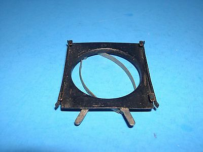 unusual spring clamp style square filter holder fits lenses up to 40mm diameter