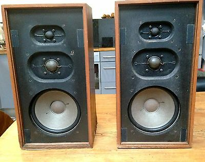 Enceinte DUAL CL 172 High Fidelity Speakers System vintage  Germany Rare