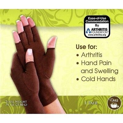 Creative Comfort Crafter's Comfort Compression Gloves - Arthritis & Swelling