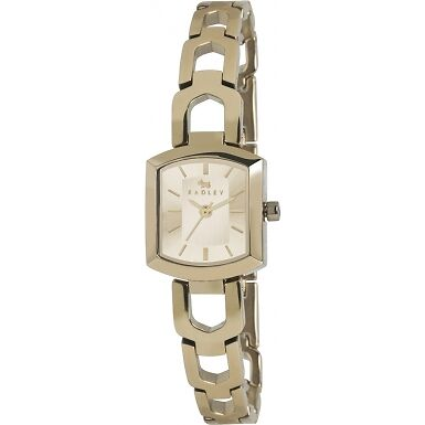 Radley Ladies Gold Plated Grosvenor Bracelet Watch RRP £125 Brand New and Boxed