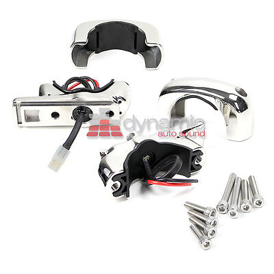 Wet Sounds ADP-TC3F REV & ICON Stainless Steel Fixed Position Clamps (1 Pair)