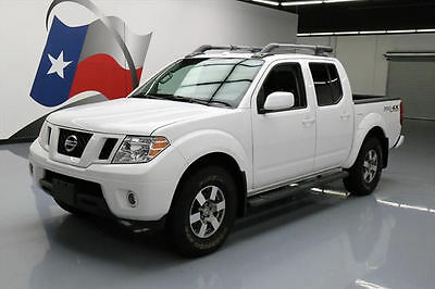 2012 Nissan Frontier  2012 NISSAN FRONTIER PRO-4X 4X4 SUNROOF HTD LEATHER 56K #443497 Texas Direct