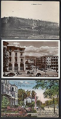 Syria Lebanon 1925 Seven Post Cards Views Of Aleppo Damascus Dyblos Beyrout