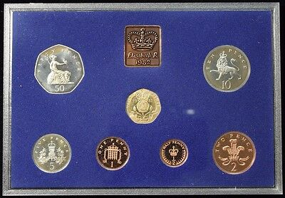 1982 Proof Coinage of Great Britain & Northern Ireland