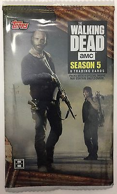Auto/Relic/1/1/Plate/Dual HOBBY Hot Pack 2016 Topps The Walking Dead Season 5