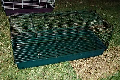 rabbit guinea pig cage hutch house large hot weather safety home