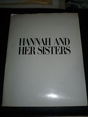 HANNAH AND HER SISTERS, press kit [Woody Allen, Mia Farrow, Michael Caine]