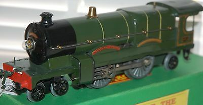 Hornby Series O Gauge Electric Caerphilly Castle In Gwr Green Livery Boxed