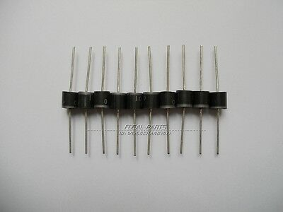 10pcs 10A10 10 Amp 1000V 10A 1KV Axial Rectifier Diode diodes M101
