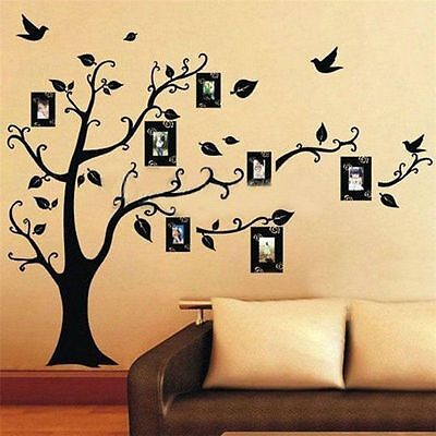 Removable Photo Tree Wall Sticker Decal Home Family Decor Vinyl Mural Art DIY