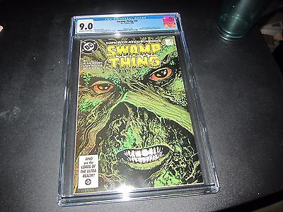 Swamp Thing #49 Cgc 9.0  1St Brief Justice League Dark !!!!!