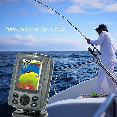 """Underwater Video Camera Fishing Fish Finder Colour 3.5"""" LCD TFT Screen D8W0"""