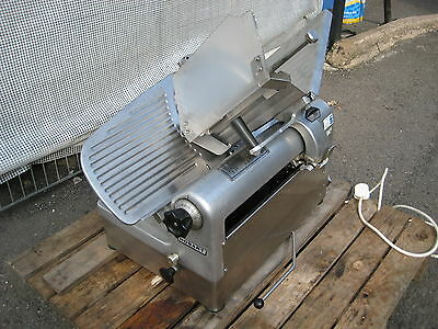 """Hobart 1712E  12"""" Automatic or Manual Meat/Cheese slicer."""
