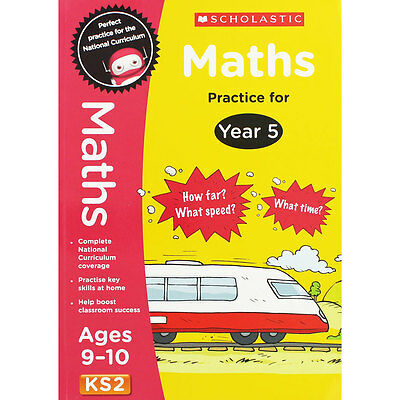 Maths Practice For Year 5 - Key Stage 2 (Paperback), Children's Books, Brand New
