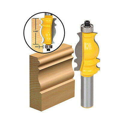 Architectural Molding 1/2'' Shank Ogee Chisel Cutter Router Bit For Woodworking&