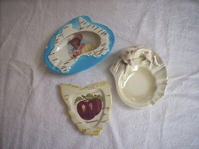 Wembley Ware Ashtrays As Found