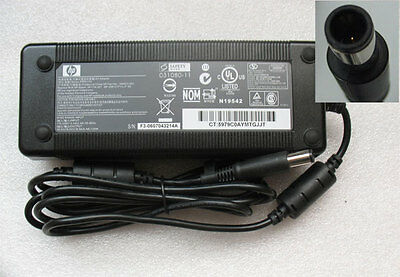 Used Genuine 19V 7.1A 135W HP TouchSmart 310 520 AC Adapter Charger Power Supply